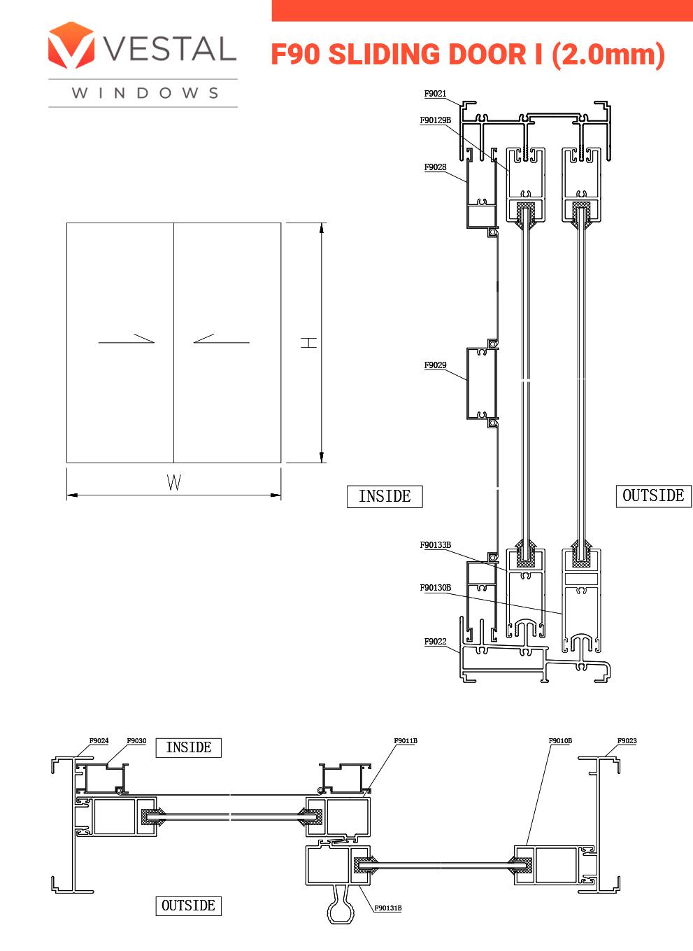 F90 sliding door1